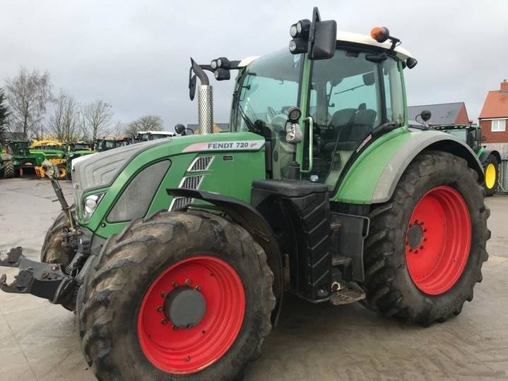 Fendt 720 profi plus - 2012