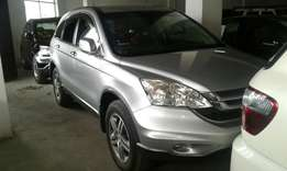 Honda CR-V silver and black colour