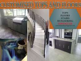 Tops and Floors, Contact us Today for Your Free Quote