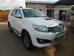 2013 Toyota Fortuner 3.0d-4d 4x4 Auto Limited Edition