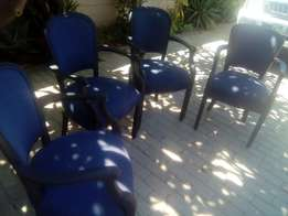 Wooden Occasional chairs x 4