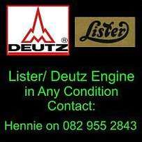 Deutz Repairs Done - Mobile service - Parts also available.
