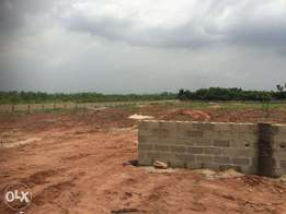 A strategically located fenced land along Papalanto Road