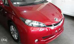 Toyota wish metallic red kcn 2010