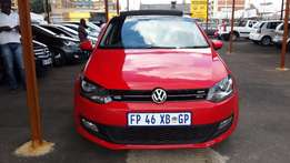 2013 Red VW Polo 6 1,4 Comfont Line for sale