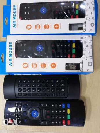 Voice Air mouse for Android TV box رموت هواءي مع الصوت لتكلم