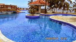 An executive 2 bedroom beach apartment for rent in shanzu
