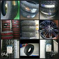 Unbeatable prices on tyres and rims in all brands and sizes 14 to 22in