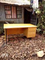 Wooden office desk