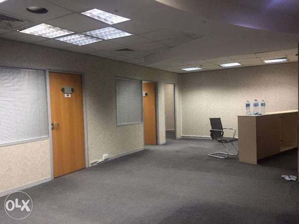 90 sqm 2 ROOM office BIN OMRAN 9,000 QR only !