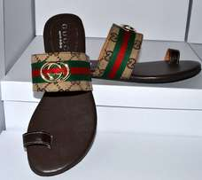 Female Gucci pam slippers