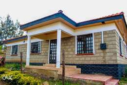 3 bedrooms house for sale with Master ensuite in Nkoroi.