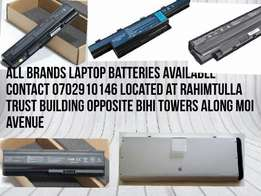 New imported laptop batteries for you,we do deliveries country wide