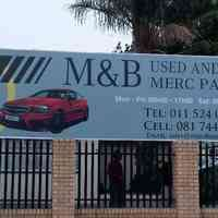 M and B used and New Merc parts