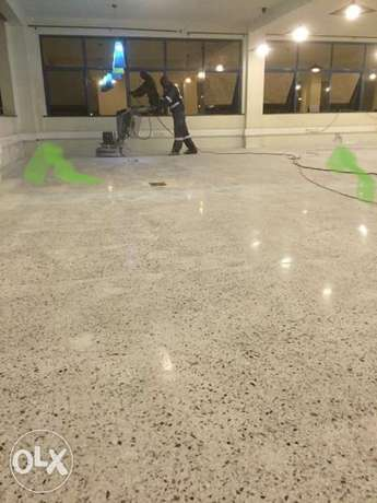 TERRAZZO Flooring & Counter Top Works