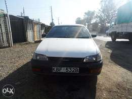 A clean and well maintained Toyota caldina