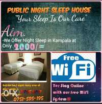 Public Night Sleep House
