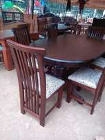Oval 6 seater dinning
