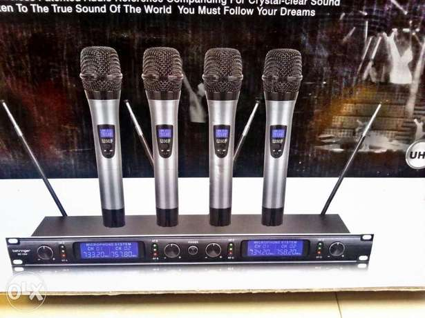 Quality BEHRINGER 4in1digital wireless mic Lagos Mainland - image 1