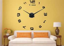 Luxury Large 3D Wall DIY Number Clock