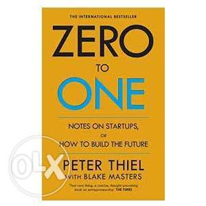 Zero to One by Peter Thiel, Blake Masters Ikeja - image 1