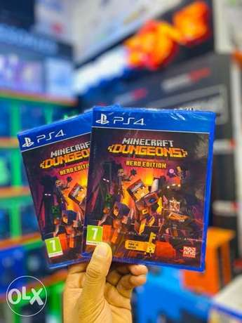 PS4 new Minecraft now available in gamerzone