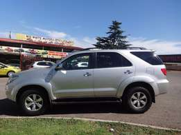 2008 Toyota Fortune 3.0 D4D 4x4