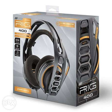 Gaming Headset - Plantronics Rig 400