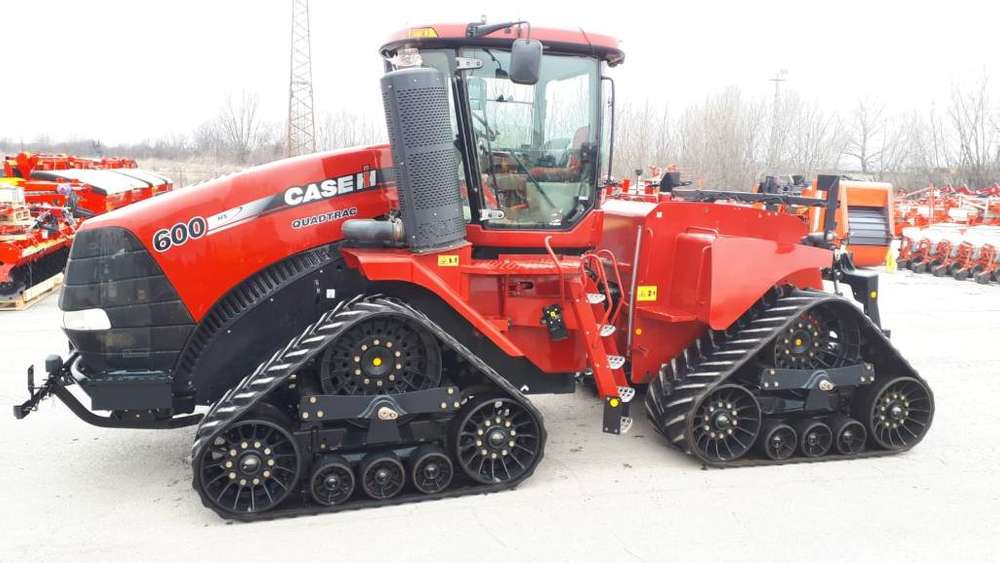 Case IH Quadtrac 600 - 2013