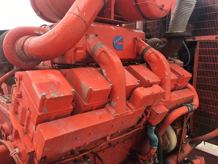 Cummins KTA38G1 - 780 kVA Generator - DPX-11547 - 1988 - image 7