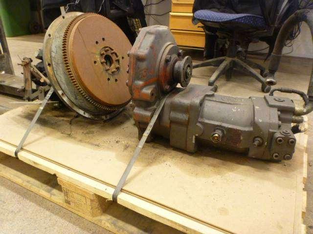 Lundberg 343 Växellåda Fördelningsåda Hydraulik