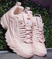 Buty fila adidasy 40 sportowe pudrowy roz oryginalne NOWE