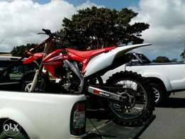 Honda crf 250r in perfect condition.