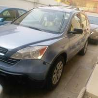 Bought brand new Honda CRV (2007)