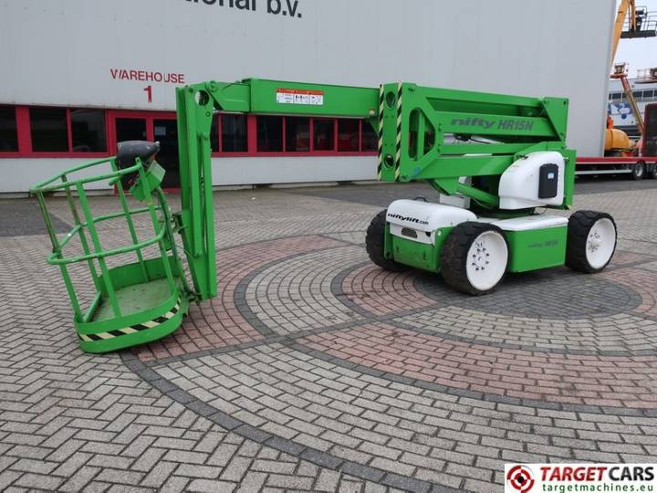 Niftylift HR15NDE Articulated BiFuel Boom Lift DEFECT INCOMP - 2001