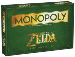 NEW! MONOPOLY: The Legend of Zelda Collector's Edition