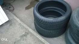 2 17 tires for sale or swap 205\40\17