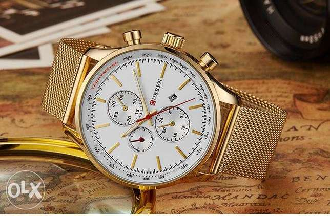 CURREN New Gold Quartz Watches Surulere - image 4