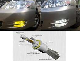 Bi-colour LED Bulbs:For Toyota,subaru,nissan,landrover,bmw,honda:14500