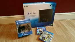 PS4 1TB Comes with 2 controllers and 2 games
