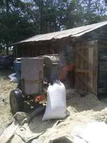 Dry fodder,sillage chopping and ready dairy feed at farmers premise..