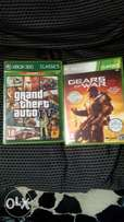Xbox 360 games 2for R100