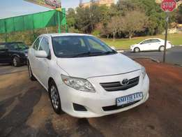 2012 model toyota corolla 1.4 Professional