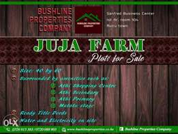 Prime plots for sale at Athi town, Juja farm, Ruiru East.