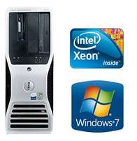 Dell 490 workstation tower quad xeon 2.0ghz.8gb.250 nvidia graphics