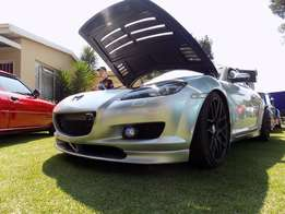 Mazda rx8 2005 model fitted with 20b pp port