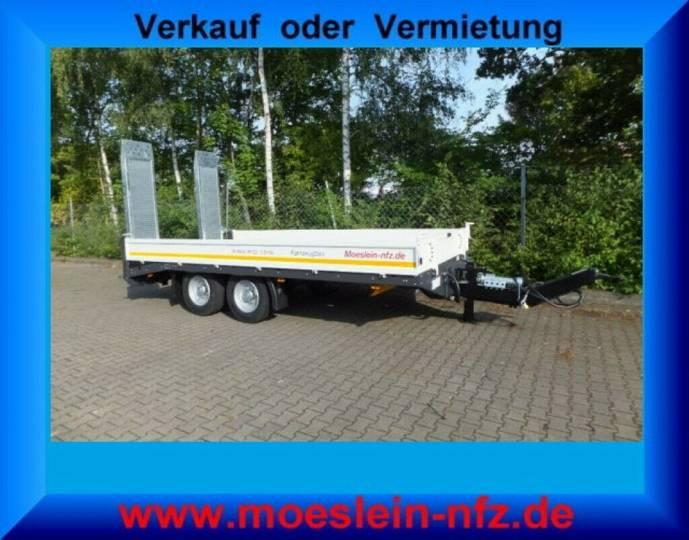 Möslein TTT 11- 5,2 Weiß Neuer Tandemtieflader - 2019