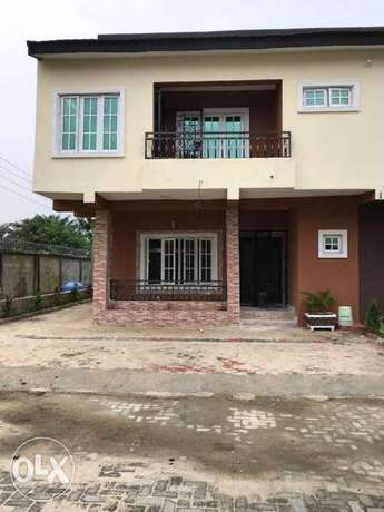 Brand New Finished 4 Bedroom Terraced Duplex For Sale by ECL Realtors Lekki - image 1