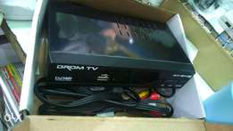 Free to air HD terrestrial digital set box with over 200 channels