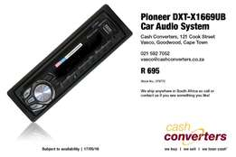 Pioneer DXT-X1669UB Car Audio System